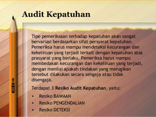 Compliance (Audit Kepatuhan)