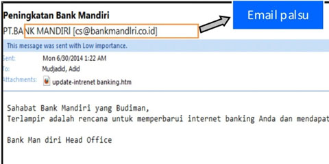 Email Tipuan Bank